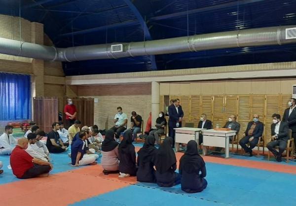 حضور مسئولان ورزش در تمرین ملی پوشان کاراته، سلطانی فر: کاراته کاها هر نتیجه ای در المپیک بگیرند از نظر ما قهرمان هستند