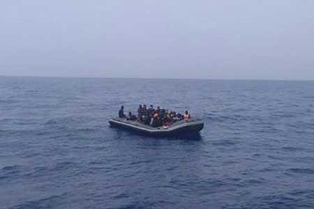 نجات 172 مهاجر آفریقایی در آب های مدیترانه