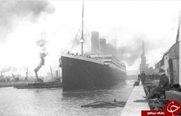 تصویری دیده نشده از کشتی تایتانیک